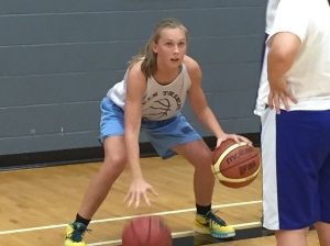 Olivia Moller- two ball dribbling